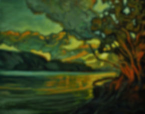 Delta Grove, Cultus Lake by Rose-Marie Kossowan