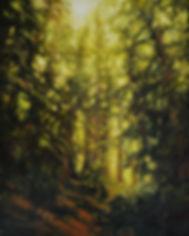 Teapot Trail, original oil painting by Rose-Marie kossowan