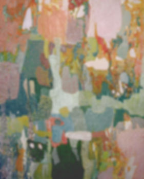 Kossowan, R. Pink Fur Coat, oil on deep