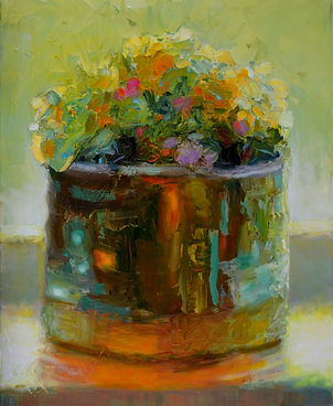 Window Pot by Rose-Marie kossowan