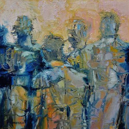 Waiting by Rose Marie Kossowan