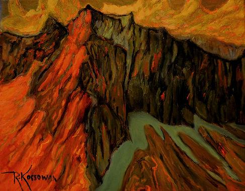 Kossowan, R. Manning Park, oil on canvas