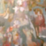 Kossowan, R. Hanna Bannana, 30x30 oil on
