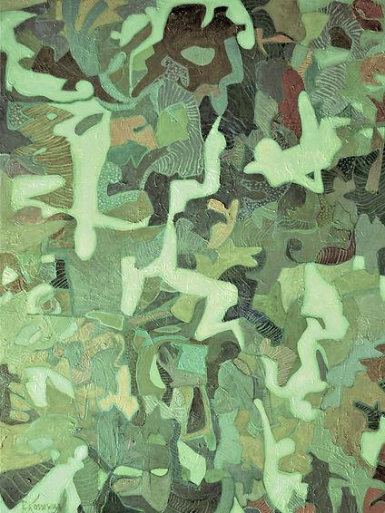 Kossowan, R. Rapture, oil on deep canvas