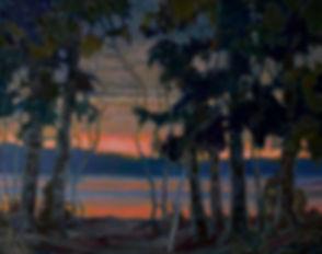 Kossowan, R. View Across Cultus Lake, oi