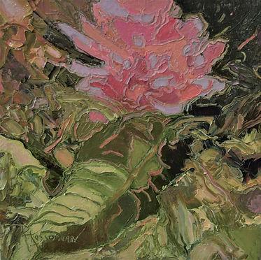 Kossowan,R. Mad Rhodo, oil on deep canva