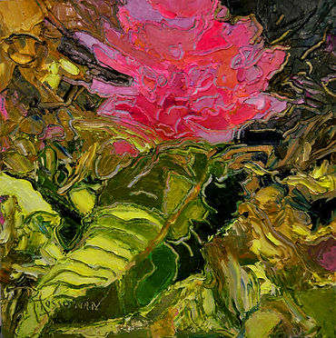 Kossowan, R. Mad Rhodo, oil on deep canv