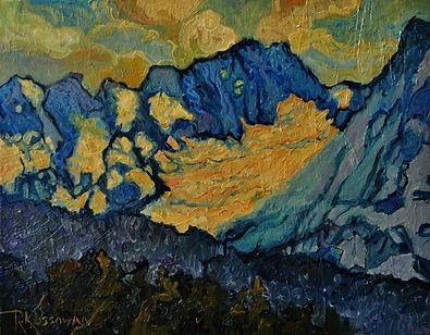 Canadian Cascades by Rose-Marie Kossowan