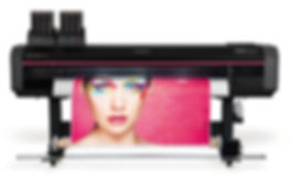 Beautiful print of a woman's face on a Mutoh Xpertjet 1682SR