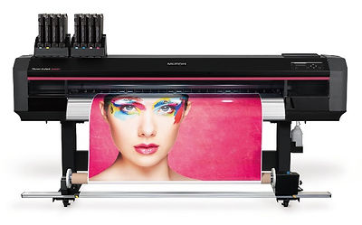 Mutoh Xpertjet 1682SR eco-solvent dual head vinyl printer