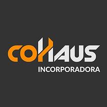 Logotipo claro com fundo Cohaus Incorpor