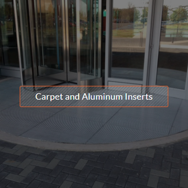 Carpet and Aluminum Inserts