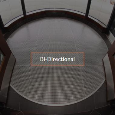 Bi-Diretional Footgrates