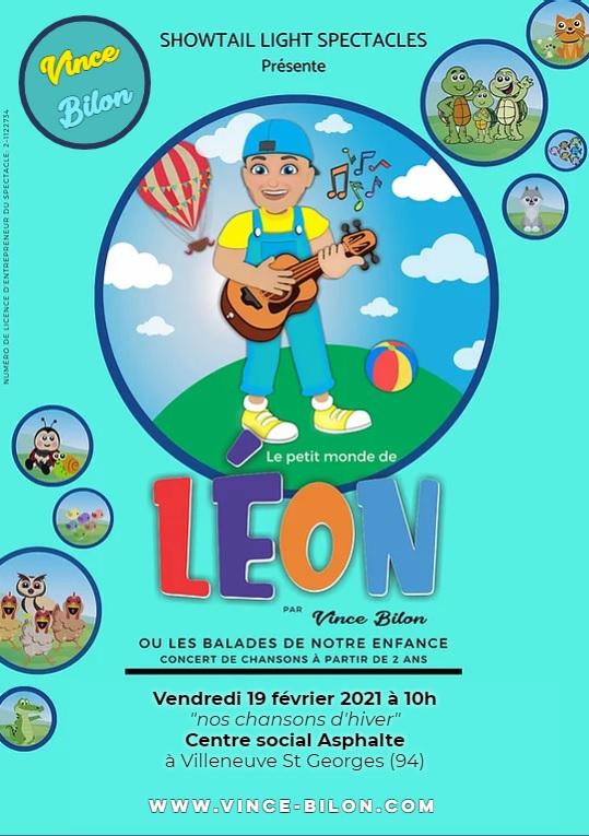 affiche du petit monde de Léon 2021
