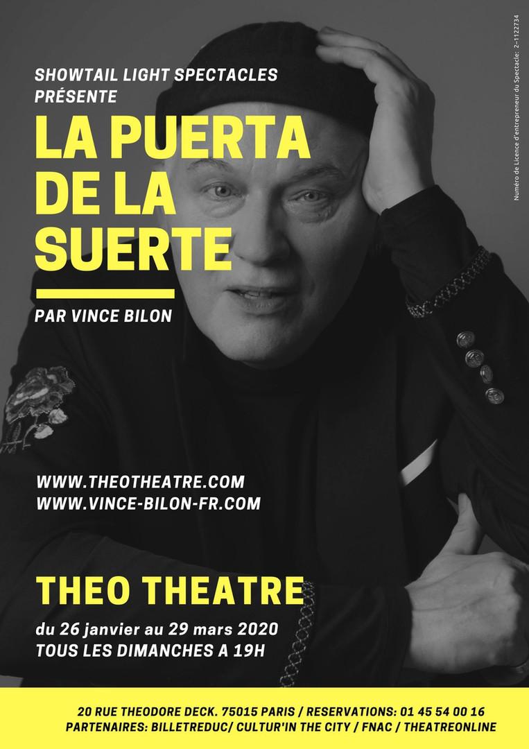 affiche officielle Théo Théâtre 2020