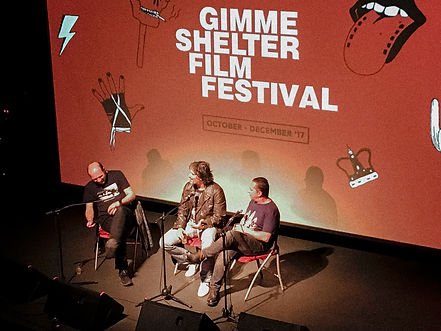 Guest panel at Gimme Shelter Film Festival 2017