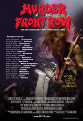 Murder In The Front Row movie poster