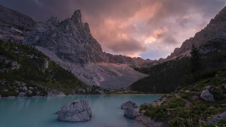 Time lapse Sorapis tramonto.mp4