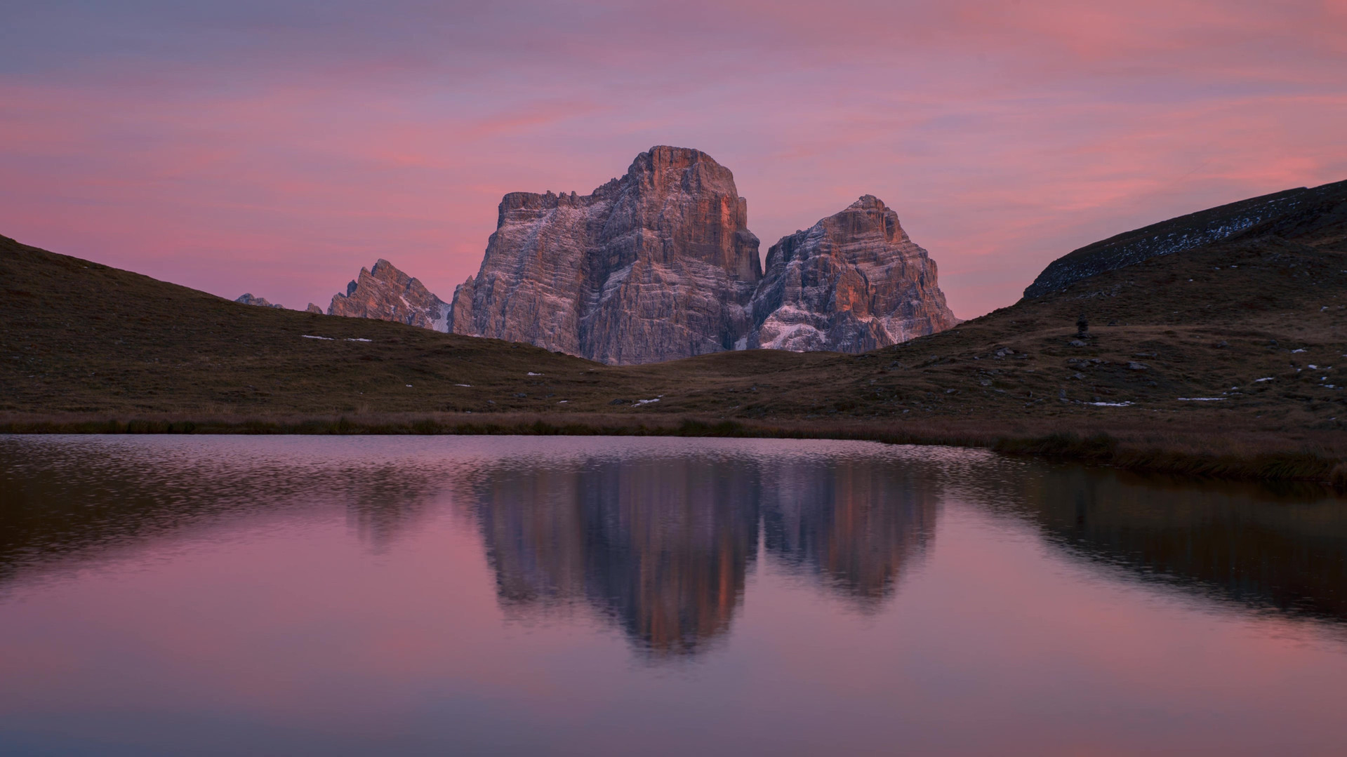 Time lapse Lago delle Baste tramonto.mp4