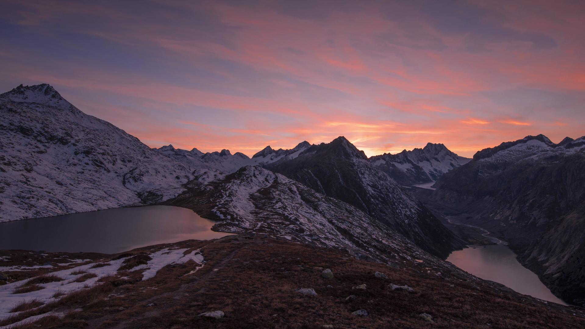 Time lapse tramonto Grimselpass.mp4