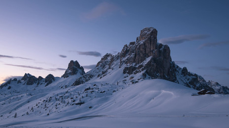Time lapse Passo Giau tramonto.mp4