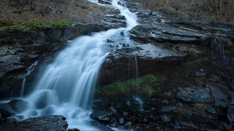 Time lapse cascata del Doccione autunno.