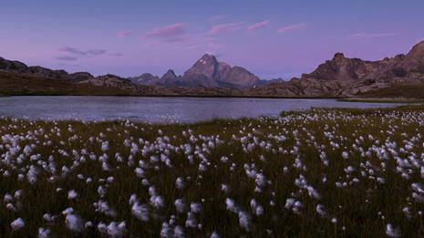 Time lapse tramonto lago.mp4