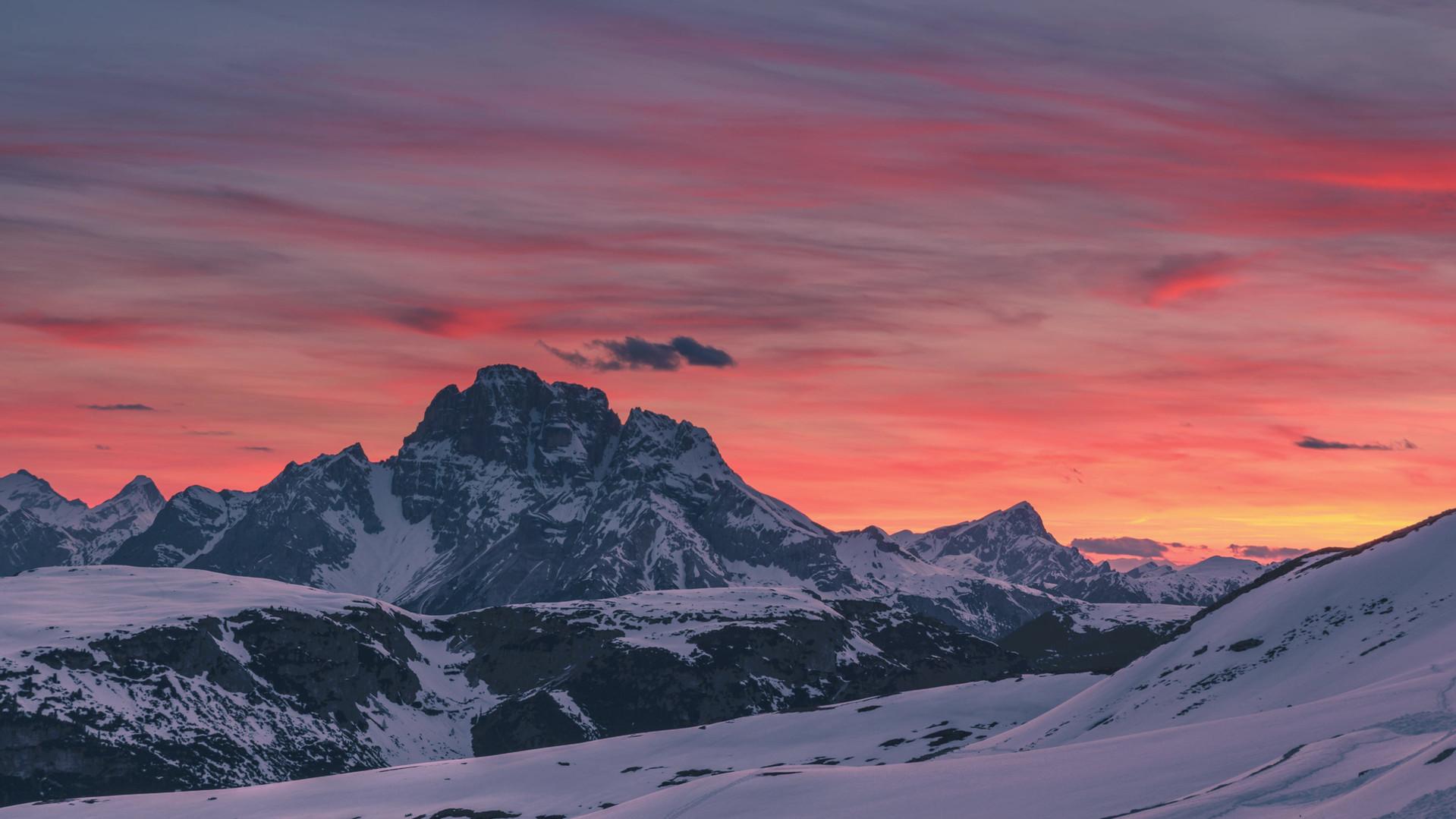 Time lapse tramonto grandangolo rif. aur