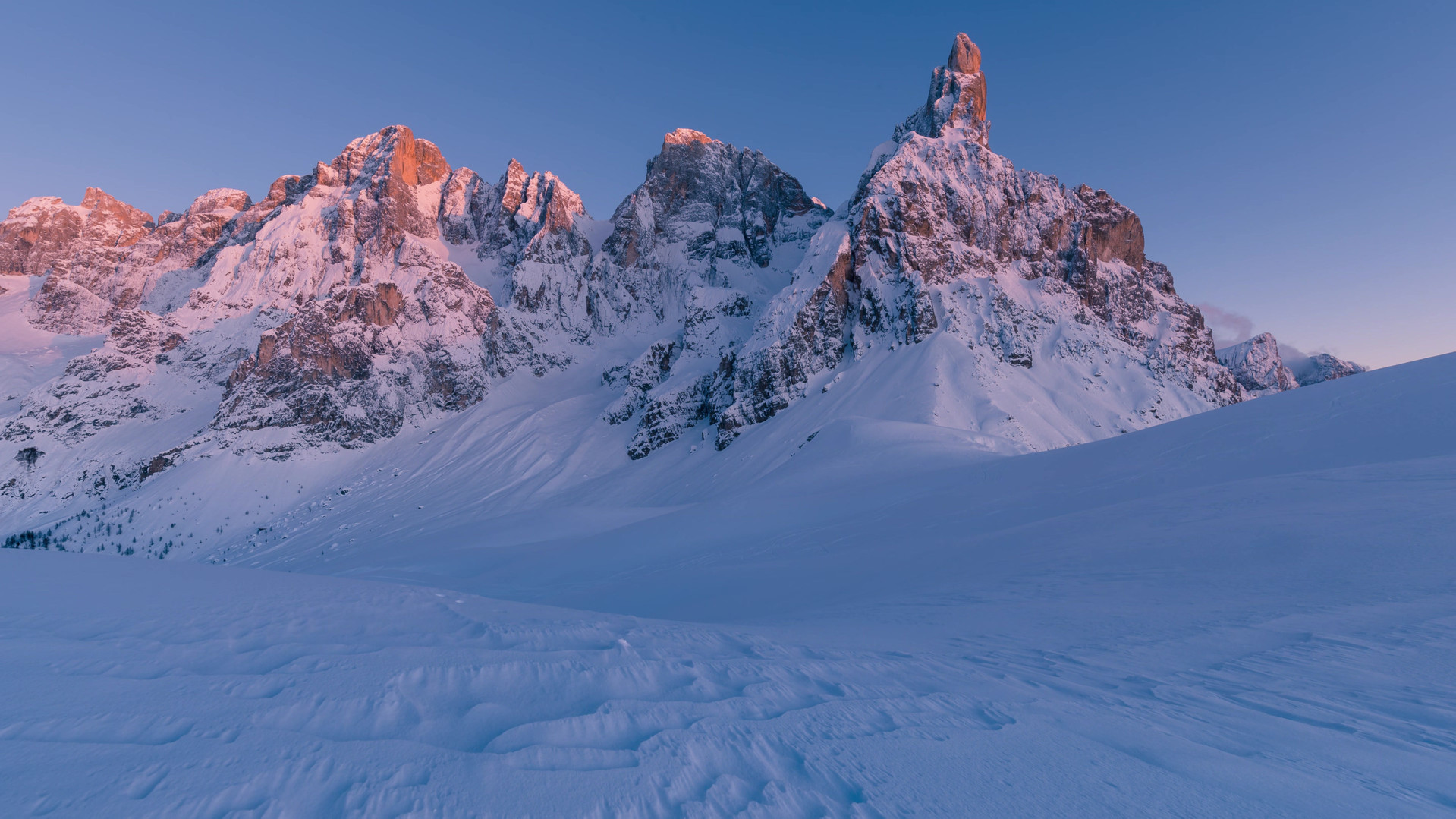 Time lapse tramonto passo role 2019.mp4