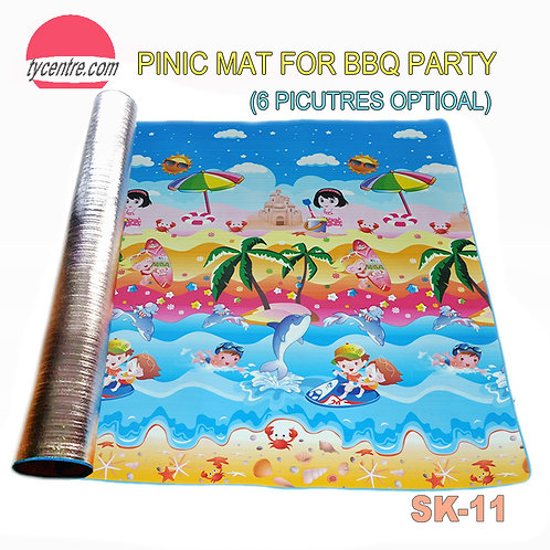 SK-11, BBQ Picnic Mats Colorful Blanket for BBQ
