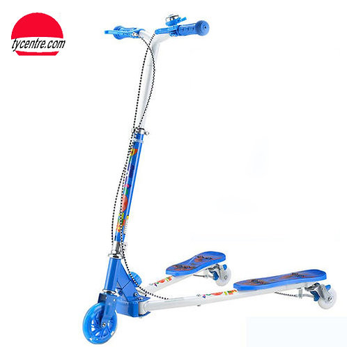 SS8175R-W2-F, Standard steel 3 wheeled Kids Scooter.