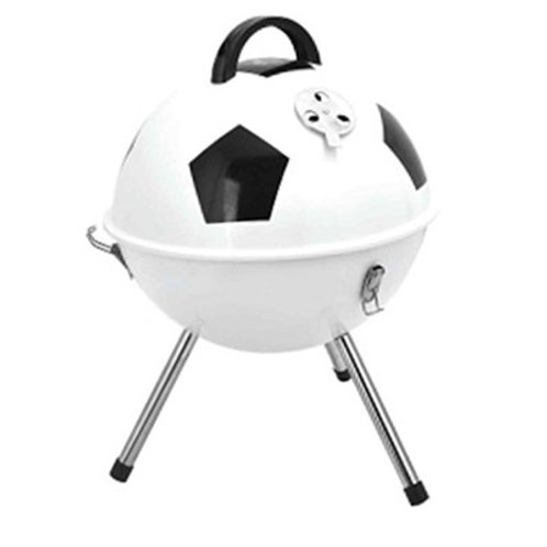 DS-23, 37x45cm, Football Furnace Round Grill  Barbecue in Football Shape