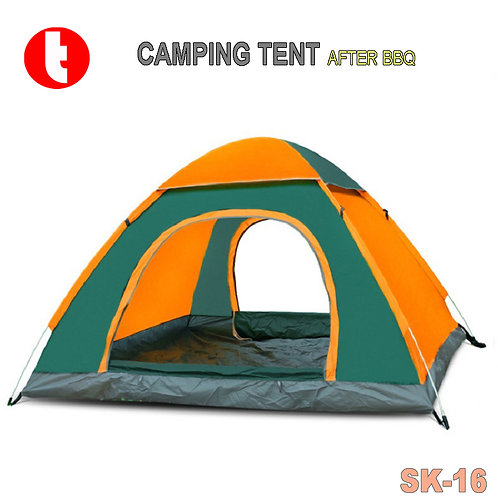 SK-16,  BBQ Dome Camping Tent One Door and Two Doors