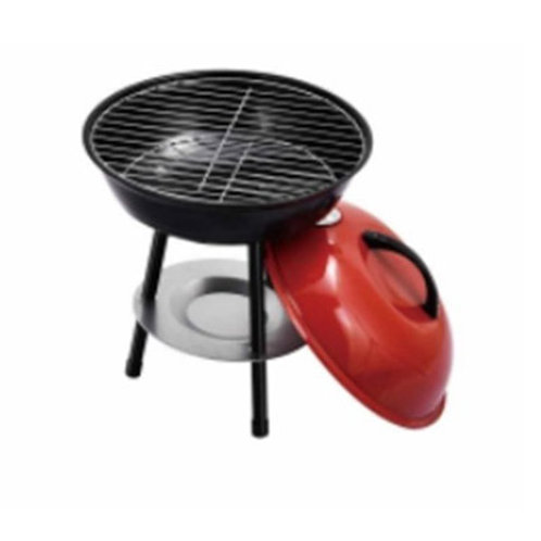 "DS-21, 14"" Small Round Grill  Barbecue in Apple Shape"
