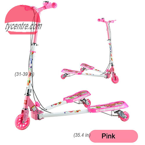 SS3175MMC-YYSG-W2-F, frog scooters / swing scooters for kids