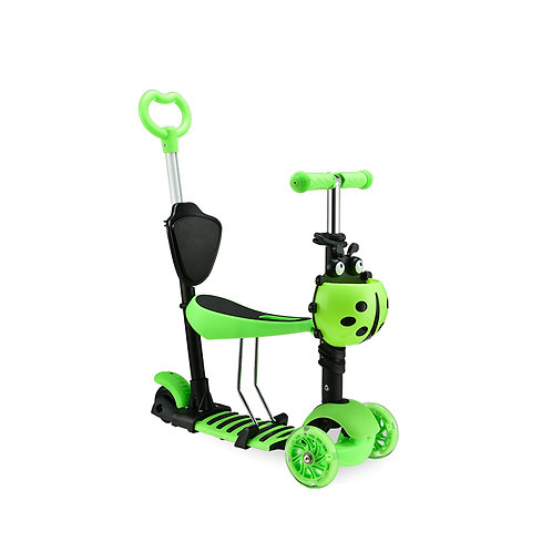 KS-009WHY, Standard kick scooter for kids with 5-in-1 use.