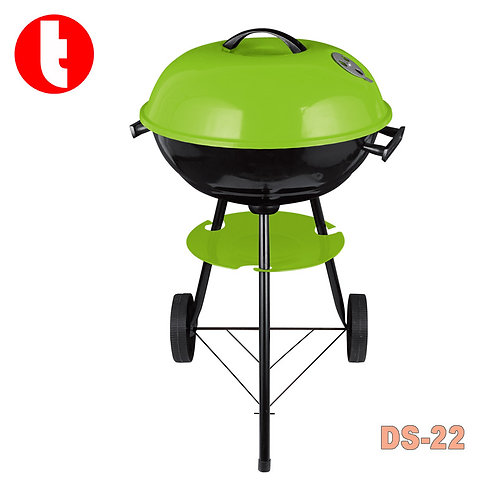 "DS-22,  17"" Big Round Grill  Barbecue in Apple Shape (44x72cm)"