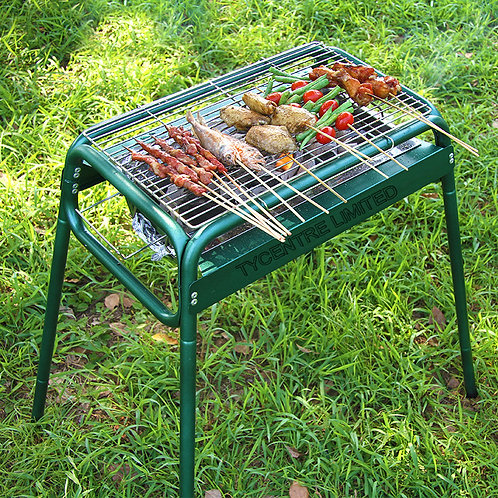 DS-11, 49cm Extending Foldable Charcoal BBQ Grills.