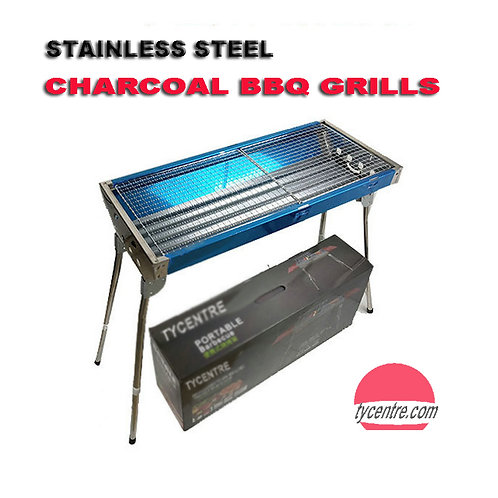 DS-01, 68cm Portable Stainless Steel Grill for outdoor BBQ,