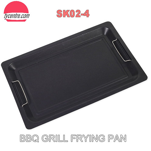 SK02-4, 45x30cm Wholesale Non-stick Coated BBQ Frying Pan