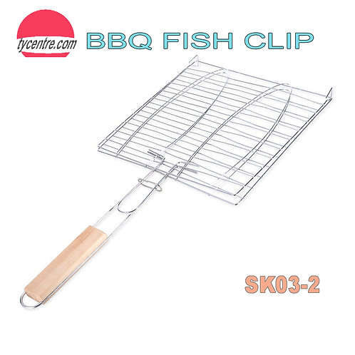 SK03-2, BBQ Grill Fish Clips Clipping not only Fishes.