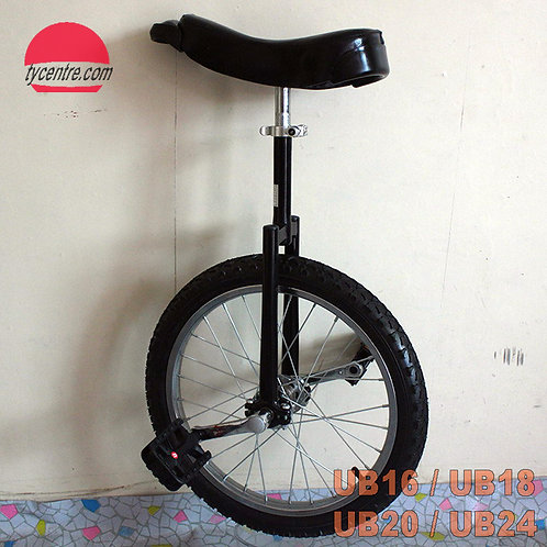 UB-20SB, 20 inches unicycle with different tires and rims