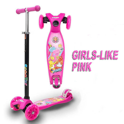 KS-006CX-SZY, Pop Kick Scooter with water transfer print board