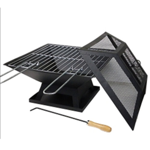 HP-04, Square fire pits with cover