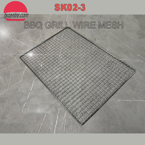 SK02-3, Wholesale Stainless Steel BBQ Grill Meshes.