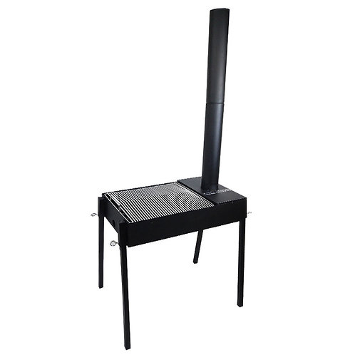DS-YC1, Table Charcoal Grill Gourmet BBQ Offset Smoker.