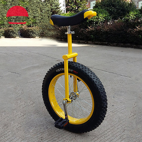 """UD-20DAB, 20"""" Unicycle with Off-road Tire and Strong Alu Rim."""