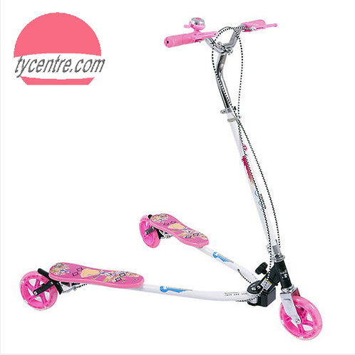 SS8068S-W1-F, frog scooters / swing scooters for kids