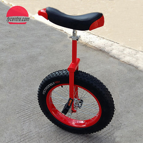 "UD-24DAB, 24"" Unicycle with Off-road Tire and Strong Alu Rim."