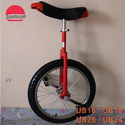 UB-24SB, 24 inches unicycle with different tires and rims